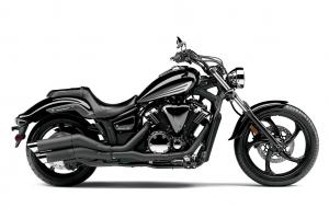 The 2011 Stryker is an obvious rival to the Honda Fury.