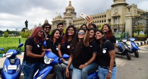 TVS Scooty Zest Himalayan Highs