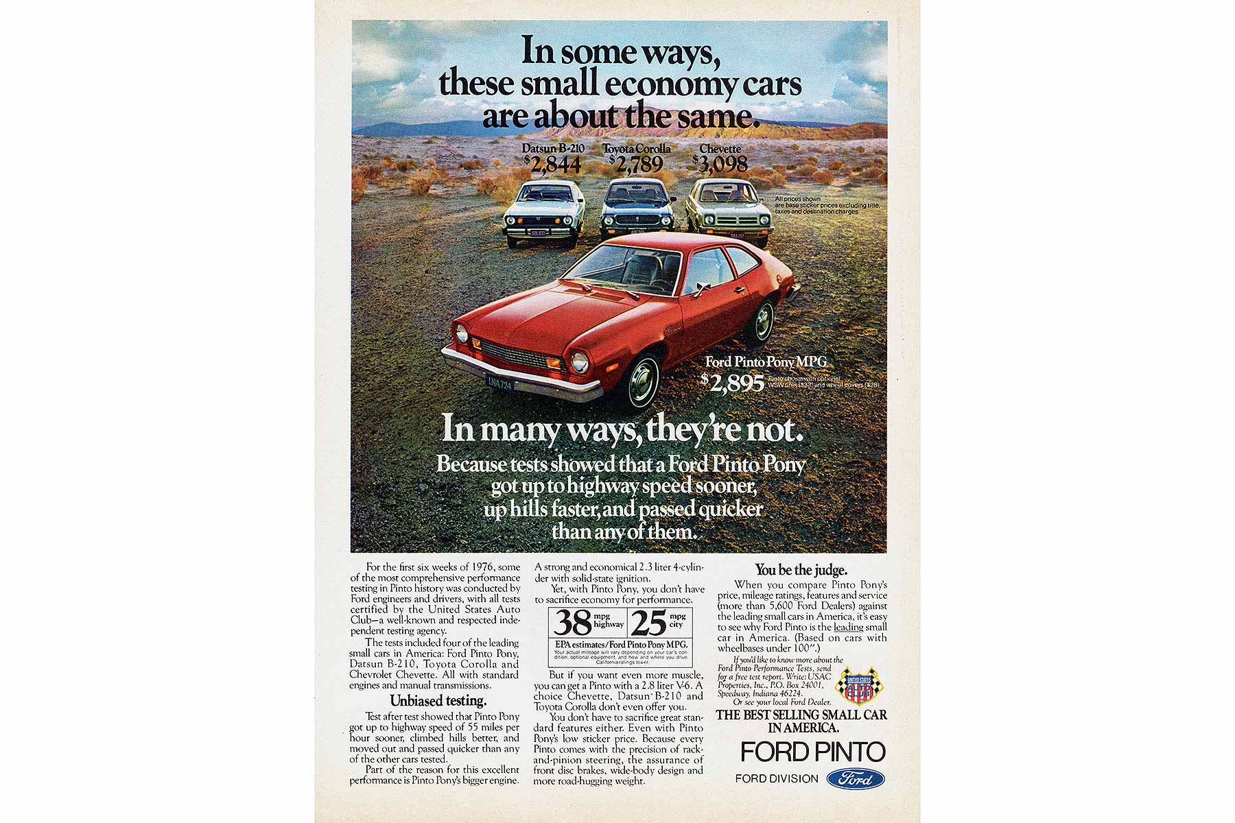 the most important moral rights on ford pinto Ultimately directed ford to recall the pinto polishing up the pinto: legal liability, moral left to right: amc gremlin, ford pinto most important.