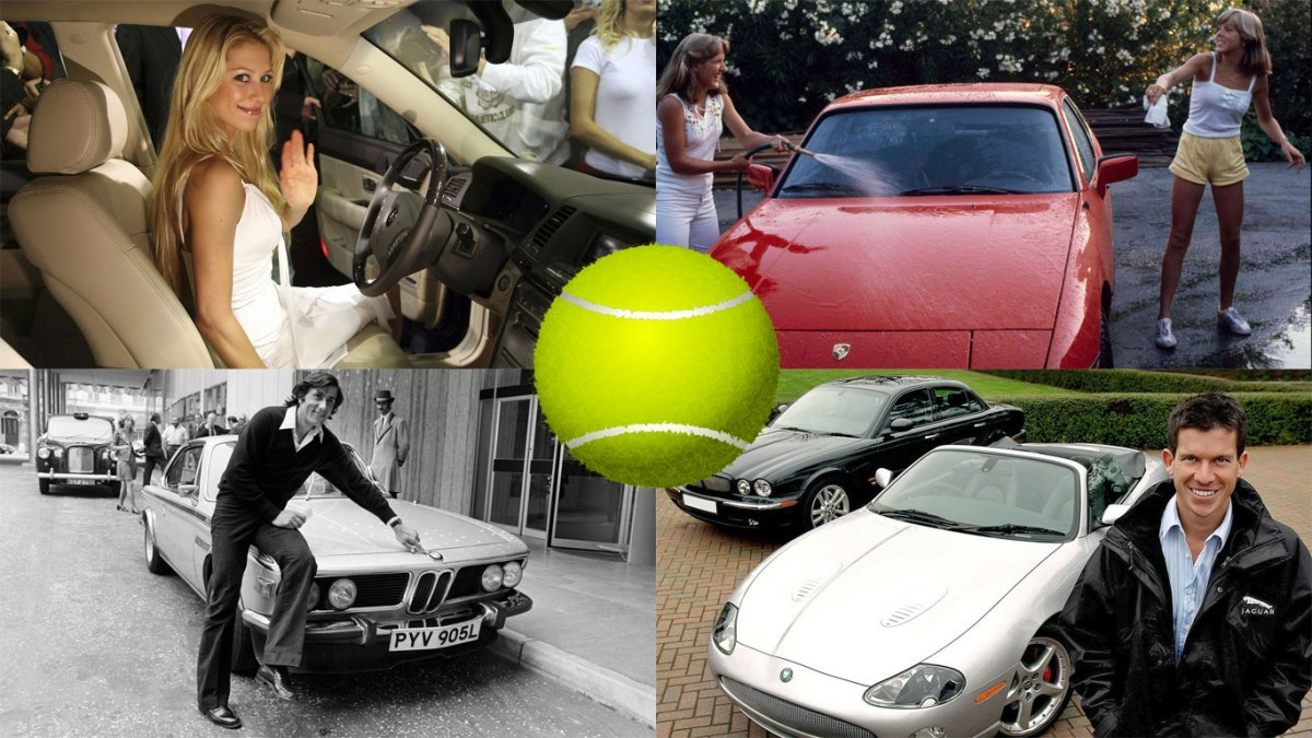 Game, Set and Match: tennis stars and supercars