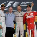 GP RUSSIA F1/2016 podio