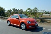 new 2016 Vw volkswagen Beetle India orange 4 New 2016 Volkswagen Beetle 1.4 TSI DSG India review : Period Drama