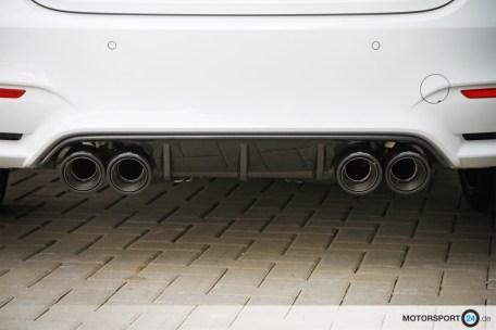 BMW Tuning M4 Remus Exhaust