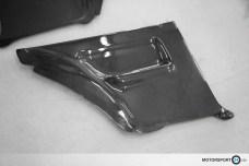 M3 E30 Rear Door Panel Carbon