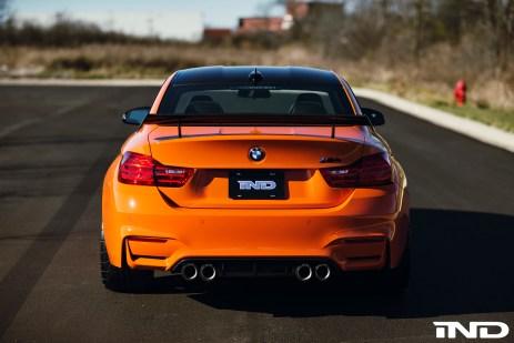 BMW M4 Clubsport Heckspoiler Carbon