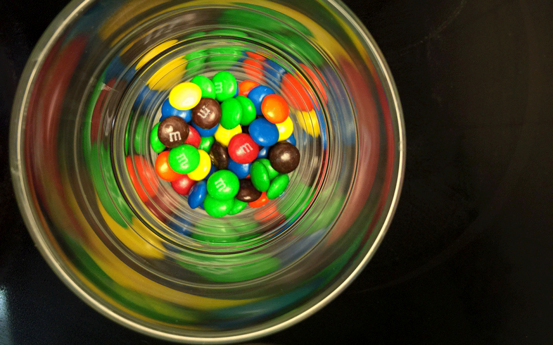 How To Eat M&M's and Be Happy