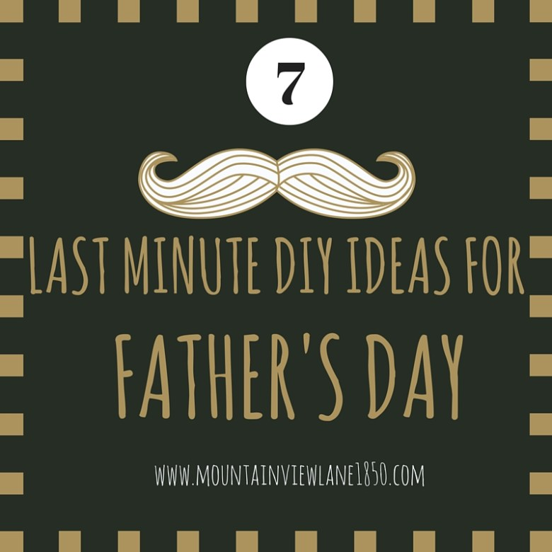 7 Last Minute Father's Day Gift Ideas