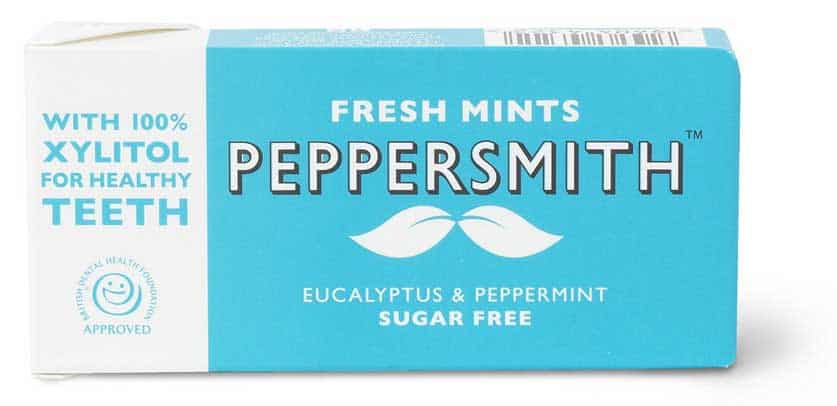Peppersmiths Eucalyptus and peppermint mints