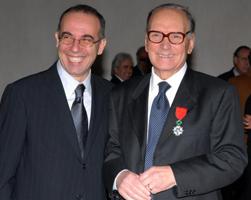 Giuseppe Tornatore and Ennio Morricone