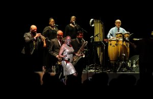NEW YORK, NY - February 6th, 2014 -Sharon Jones and the Dap-Kings kick off their delayed 2014 tour at the Beacon Theater in New York