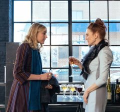 Maggie meets Georgette (Julianne Moore), a terrifyingly acclaimed academic and author, and mother to two of John's children.