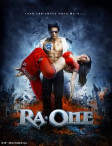 Ra one New Movie Poster And trailer 2011