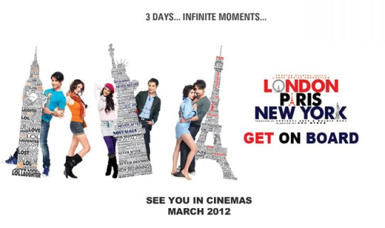 London Paris New York Movie Poster and Trailer 2012