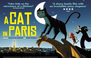 A Cat in Paris Movie Poster And Trailer 2012