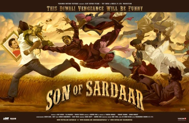 Son of Sardar First look Poster