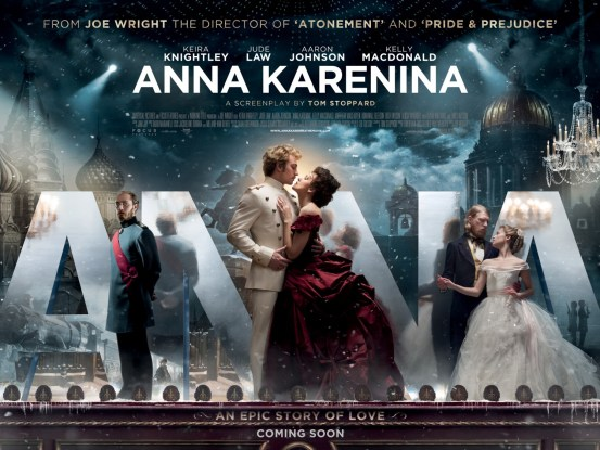 Anna Karenina Movie Poster And Trailer 2012