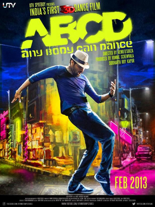 Any Body Can Dance - ABCD Movie Poster 2013