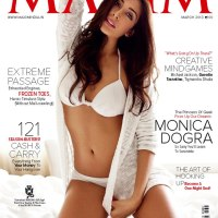 Monica Dogra is Maxim Hot Cover Girl for March 2013