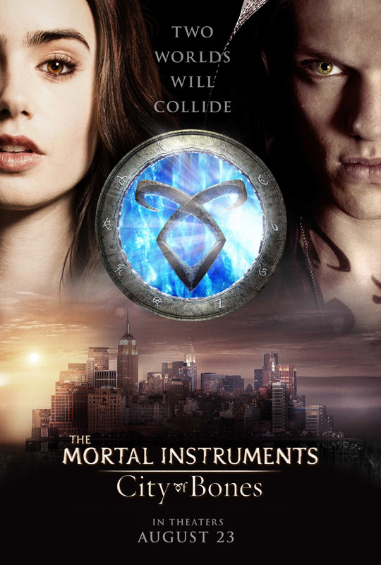 The Mortal Instruments City of Bones Debuts a New Poster