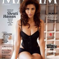 Shruti Hassan on maxim cover of may 2013 issue