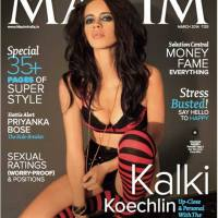 Kalki On Maxim Magazine Cover March 2014