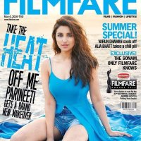 Parineeti Chopra Filmfare Magazine Cover Photoshoot April 2016 Pics