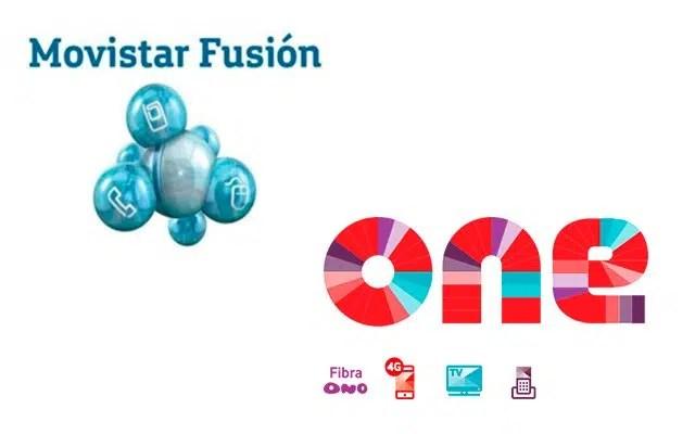 Movistar Fusión y Vodafone One