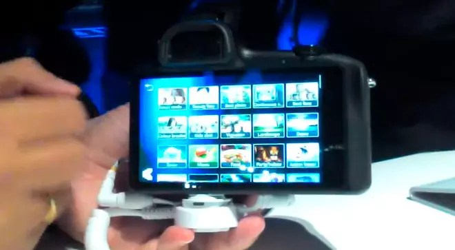 Smart Modes en Samsung® Galaxy NX