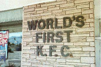 Home of World's First KFC - Salt Lake City