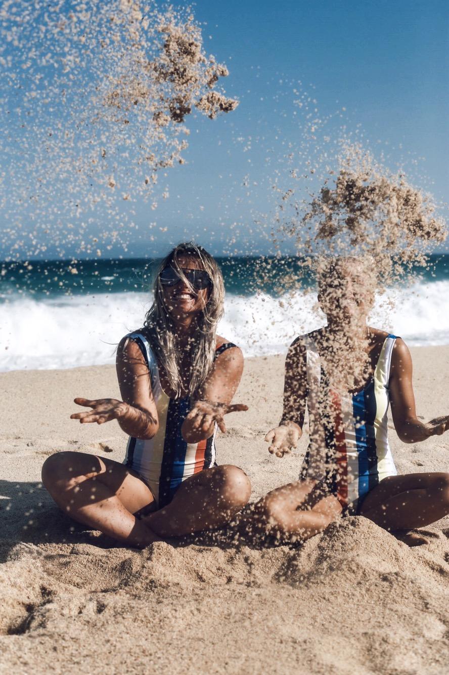 best friend beach photo
