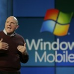 Steve Ballmer promotet Windows Mobile