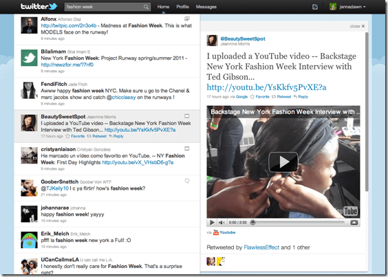 Twitter-Embedded Video