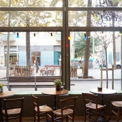 Papas and the Mamas, una cafeteria con encanto en Barcelona