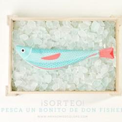 Don Fisher pesca lo bonito de todos los mares. Marca handmade de Barcelona que se pesentó en el Festivalet. Esta semana sorteamos uno de sus bonitos en Mr and Miss Colors