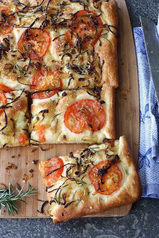 quiche de verduras - como decorar una fiesta en el jardin