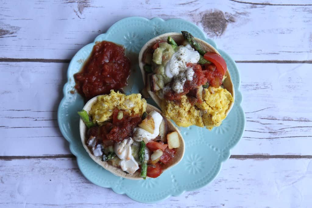 Celebrating #CincoDeMayo with Old El Paso savoury and sweet breakfast tacos!
