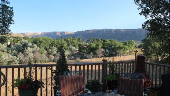 View from the deck in Grand Junction