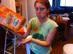 We ran out of Goldfish