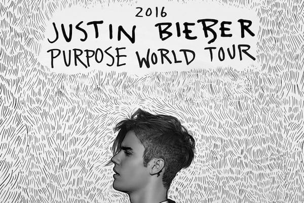 Justin Bieber Party Bus to Oracle Arena