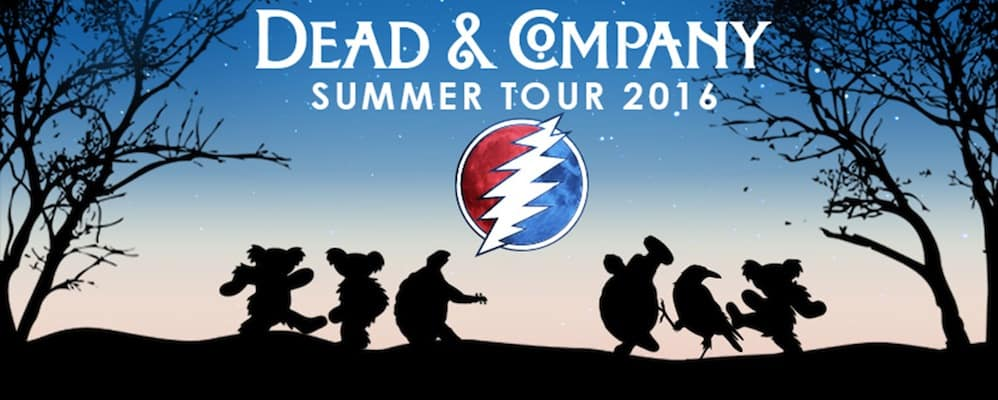 Dead & Company Party Bus to Shoreline Amphitheater