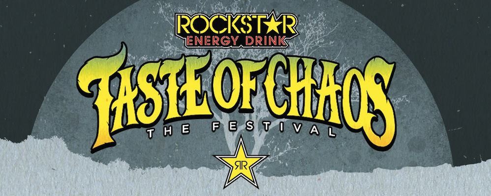 Rockstar Energy Drink Taste of Chaos Tour Shuttle Bus