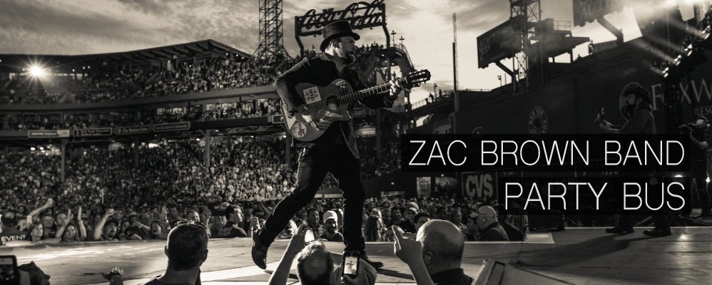 Zac Brown Band Party Bus