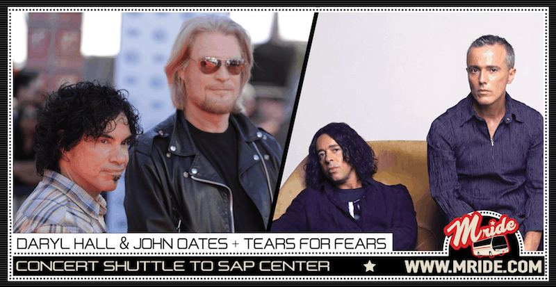 Hall & Oates with Tears For Fears at SAP Center