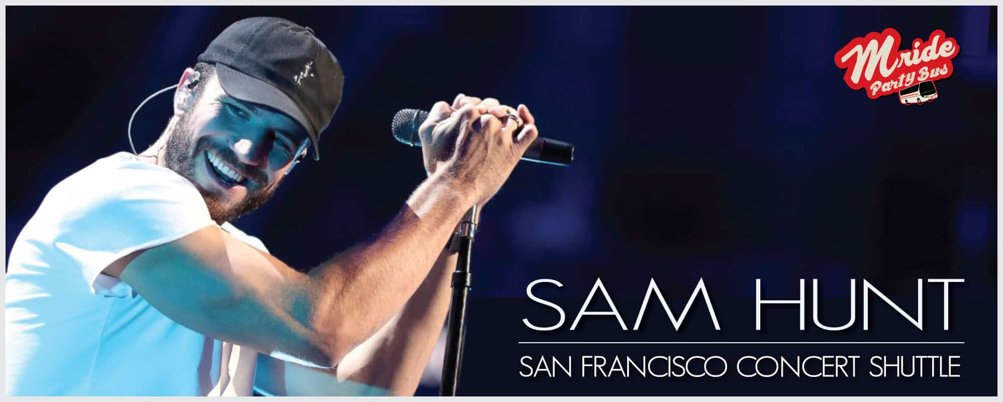 Sam Hunt Party Bus (Shoreline Amphitheater)