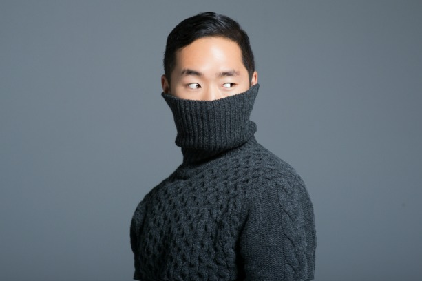 How to wear a turtleneck lance chung feature