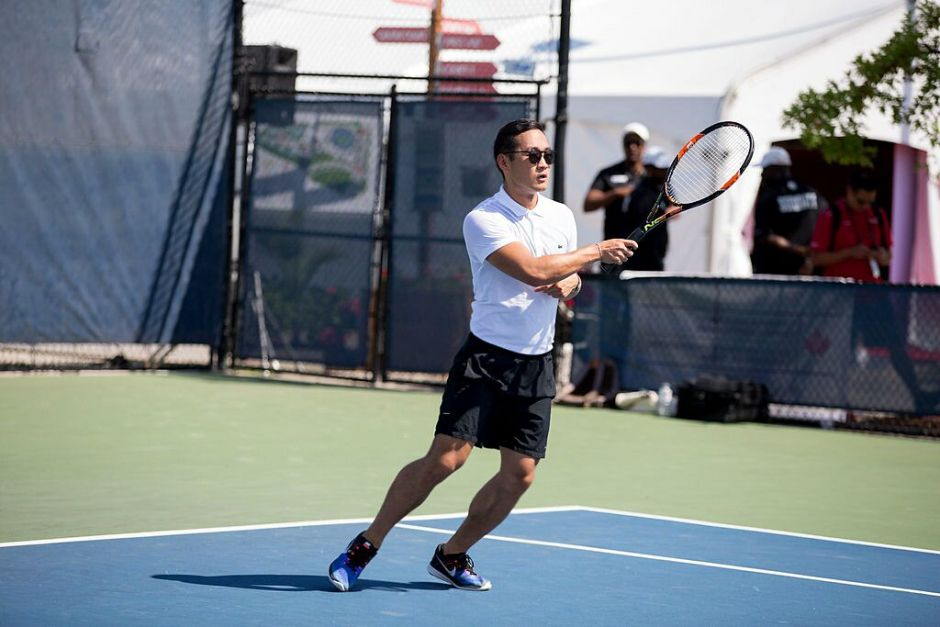 Lance Chung Rogers Cup Tennis 6