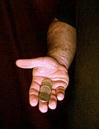 A few coins for a tax cut
