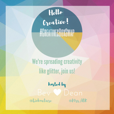 #CreativesBoxSwap| Do you love to create? Do you want to create? C'mon over and join the Creatives Box Swap and get swapping with us this June! We want to spread creativity like glitter. :)