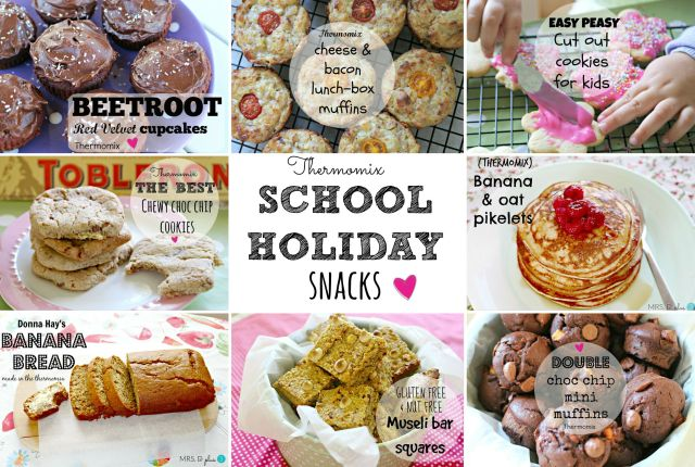 thermomix school holiday snacks