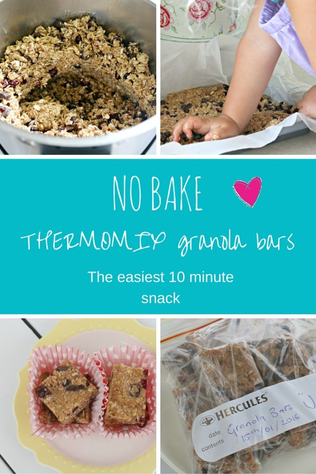 Thermomix NO BAKE granola bars! Quick, easy and healthy ...
